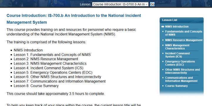 FEMA ICS 700 B Answers - National Incident Management (NIMS)